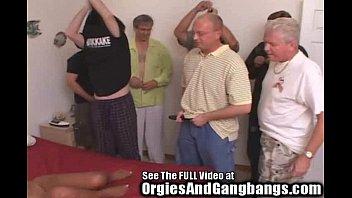 Hot Ebony MILF Gangbanged By 7 Big Dick Havin Whiteboys
