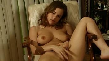 Big tits babe masturbation