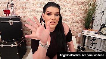 Cuban BBW Princess Angelina Castro Sucks Landlord's Big Dick