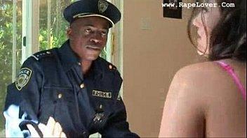 Черный полицейский и медсестра чертовски вместе