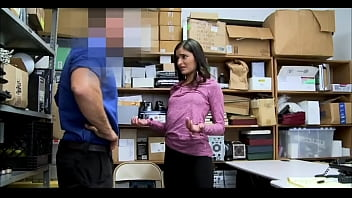 Girl caught stealing and fucked