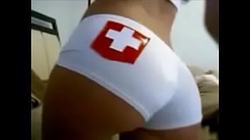 Fetish enfermeira gostosa fantasia sexual