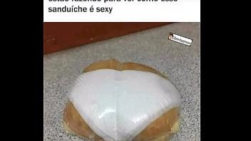 Sanduíche super sexy querendo te seduzir