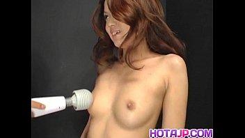 Kaoru Mugi is fucked with vibrator and cock