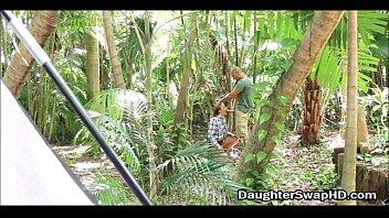 Teen Daughter Swapping Camping Trip - DaughterSwapHD.com