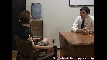 Schoolgirl Creampies - Chrissy