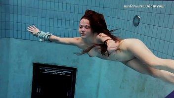 Salaka Ribkina beautiful body in the swimming pool