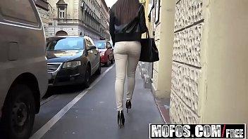 Mofos Public Pick Ups Euro Chick Sucks Dick In Elevator Starring Carla Cross thumbnail