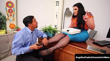 BBWs Angelina Castro & Harmonie Marquis Fuck & Suck A Dick!