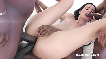 Megan Venturi still enjoys black cocks in the ass IV343