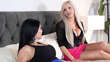 Kinky couple fuck in front of an estate agent - Jasmine Jae, Nina Elle at Bskow