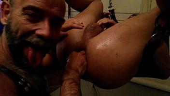 Loira gostosa fazendo sexo anal_pic10146