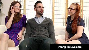 Nerdy Girls Penny Pax &amp_ Jay Taylor Get Banged By Alex Legend
