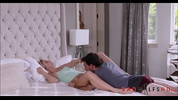 Hot MILF Natasha Starr Teaches Her Step Son Then Gets Him Off While His Hot Teen Girlfriend Bailey Brooke Is Sleeping