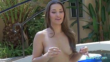 Young sweetheart bikini shots bikini solo session