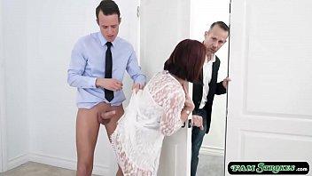 Bride stepmom sucks n fucked by stepson