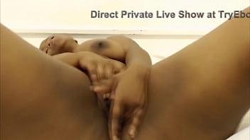 black BBW queen shows off her juicy pussy