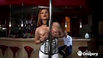Tara White Sucks Some Dick At The Strip Club