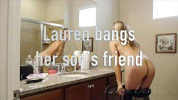 Lauren DeWynter bangs her son'_s friend (short version)