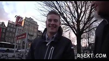Lad takes trip to amsterdam