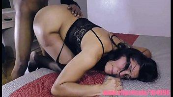 Big Booty Bella Davina gets a beatdown in hotel