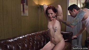 Dude anal fucks pro in bondage in hotel
