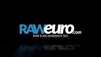 Raweuro beautiful twink gets bareback hard in doggystyle