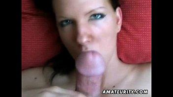 Amatoriale fidanzata pompino completo con sperma in bocca