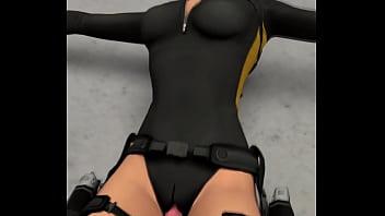 Lara Croft Shackled - by OpticonStudios