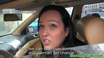 Порно ролик дрочит в такси