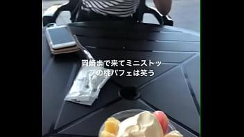 岡崎まで来てミニストップのアイス
