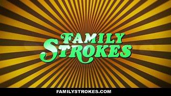 FamilyStrokes - Family Vacation Turns Into Sibling Fucking