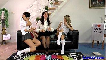 British milf spanks naughty dyke lesbian | spanking | lingerie | modeling