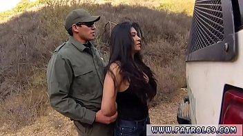 ضابط شرطة في الخدمة مذهل المكسيكي flozie اليخاندرا ليون - متناكه