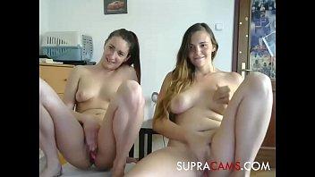 Two camgirls masturbate cam - SUPRACAMS.COM