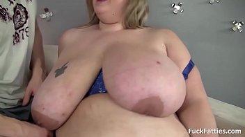 Pretty Face Blonde BBW Amazing In Sucking Cock