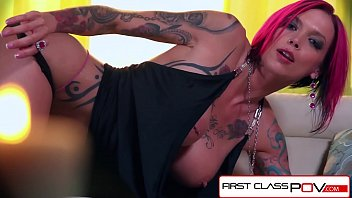 FirstClassPOV - Anna Bell Peaks sucking a monster cock, big boobs & big booty