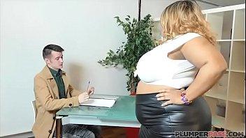 Busty British BBW Superstar Shanice Richards Rides Big White Cock