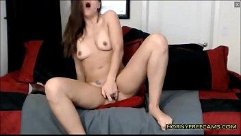 Legs Shaking Orgasm For Hot Brunette Babe
