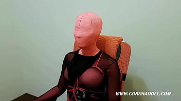 Face Mummification Bondage & Discipline [ 6 layers ]