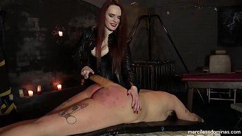 Slavegirl Jayne Spanked - Painful Experience for Virgin Ass