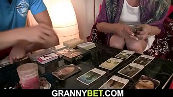 Skinny hairy pussy blonde granny
