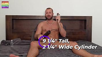 Gay Using Penis Pump to Make Penis Super Erect and Long during Masturbation By Jay Austin