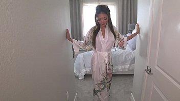 Japanese girl/ Geisha'_s secret mischief