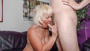 blonde oma sex tube