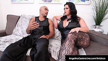 Thick Cuban Angelina Castro &amp_ King Noire Fuck Milf Sara Jay!