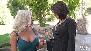 Big Titty Vixen fuck off with Savannah Stevens &amp_ Darcie Dolce