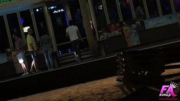 Clubbing and fucking in Benidorm night