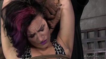 Strict Rope Bondage and Corporal Punishment