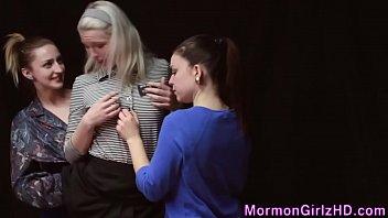 Threeway Mormon Lez Taste